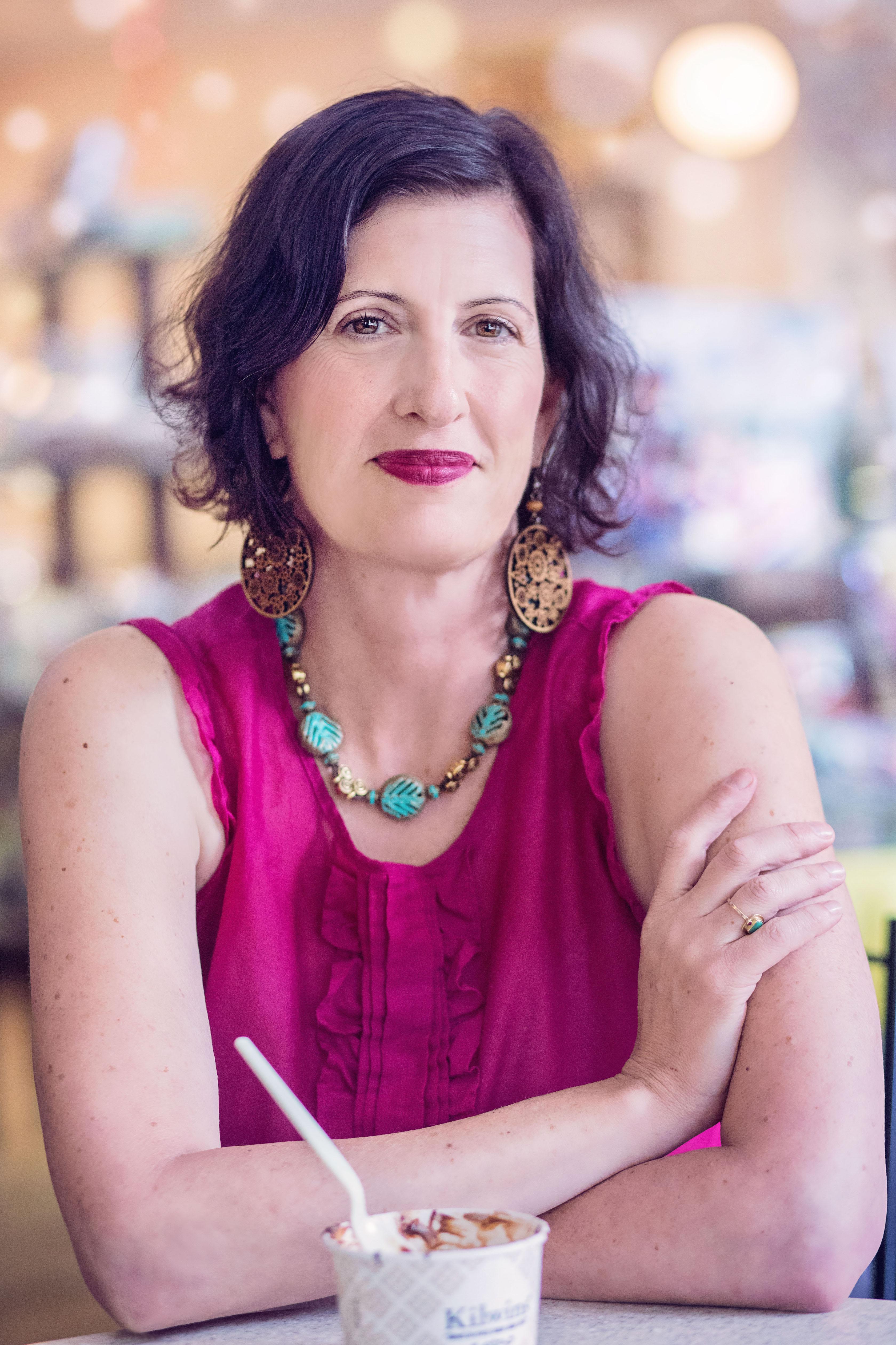 Susan Gorman Intuitive- Susan Eating Ice Cream