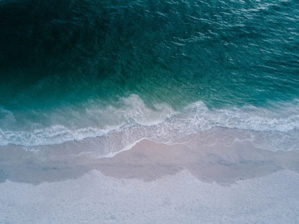 Susan Gorman Intuitive- waves on beach